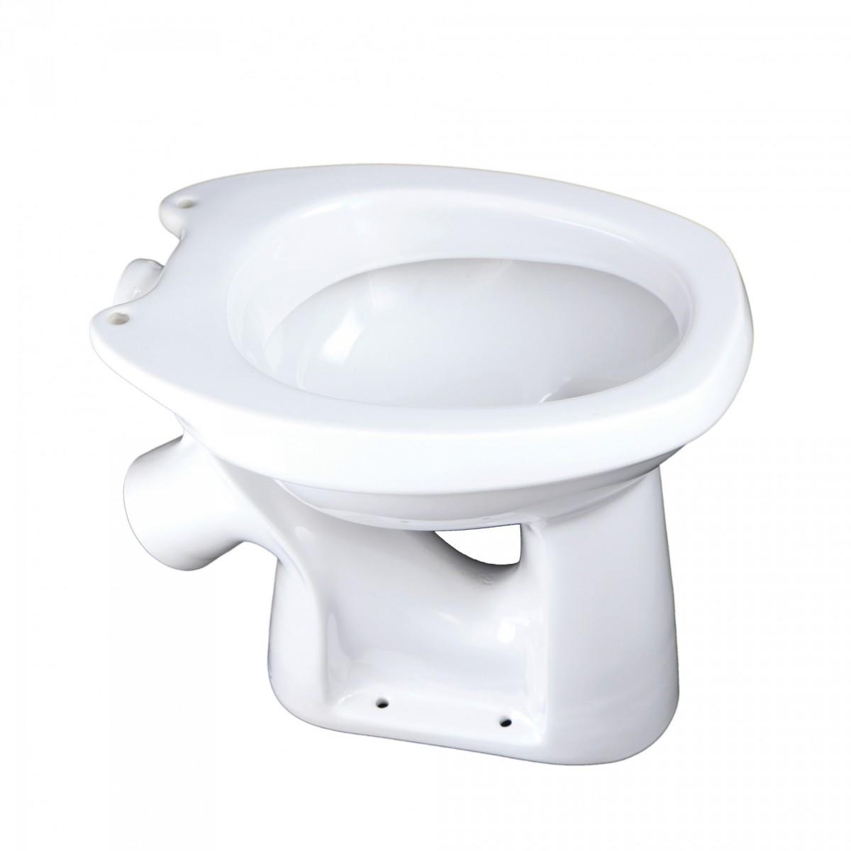 Унитаз Комфорт тарельчатый белый (чаша)